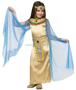 0e89f7d886f1 Di alta qualità Cleopatra costume di fantasia vestiti per il bambino  ragazza costume di carnevale qbc