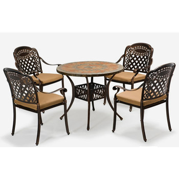 Exceptionnel Premium Quality Garden Patio Cast Aluminum Bronze Living Accents Outdoor  Furniture Mosaic Table   Buy Dining Table Set Modern,Dining Tables And  Chairs ...