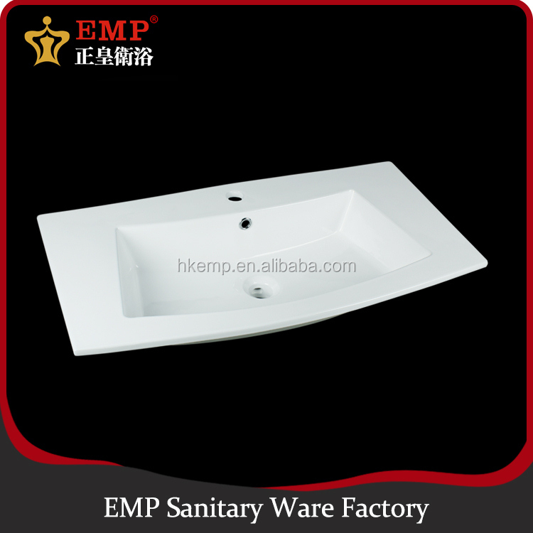 New arrival single hole ceramic bathroom sink hand wash basin