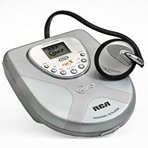 RCA RP2410 Personal CD Player with MP3 Playback