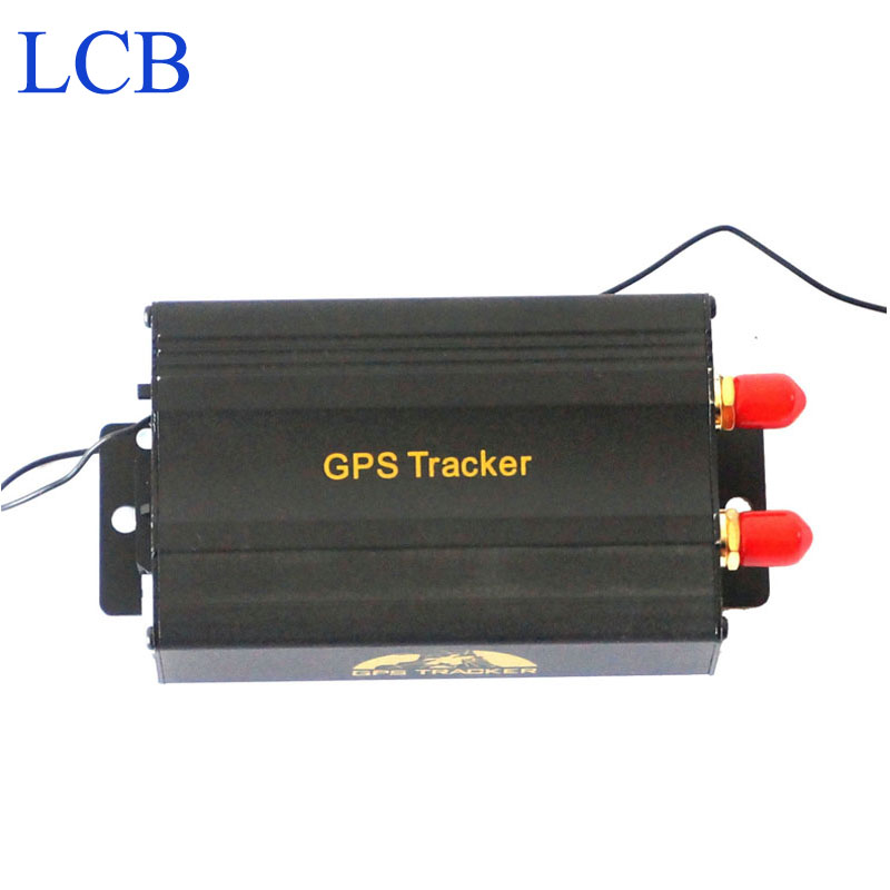 TK103B Vehicle GPS tracker Remote Control Portoguese Manual Quad band SD card