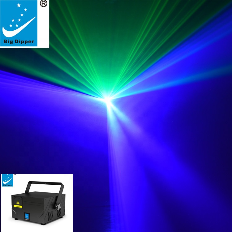 BETOPPER Stage Light 3W RGB Full Color Animation PC Controlled Laser Lighting SD30000+RGB