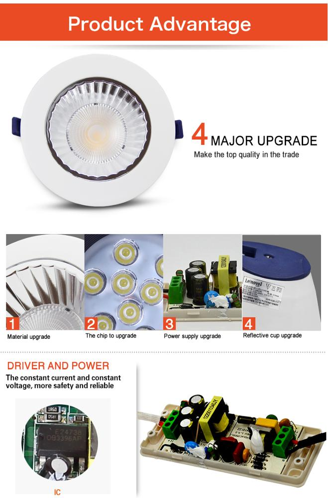 product-Leimove-Round Cylinder 5W 400LM IP20 COB surface mounted led ceiling light new-img-1