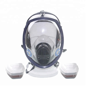 OEM double cartridge full body mask air filter respirator mask