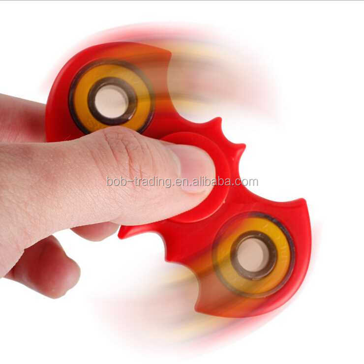 hot Promotion Gift Bat Shape Hand Spinner 2017 fashion boy hand spinner toys