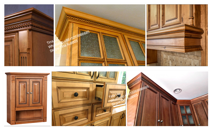 Wood Cabinet Moulding Carving Cornice Moulding - Buy Wood ...
