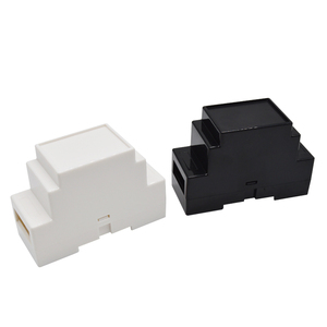 High quality smart plastic enclosure electronic din rail control case