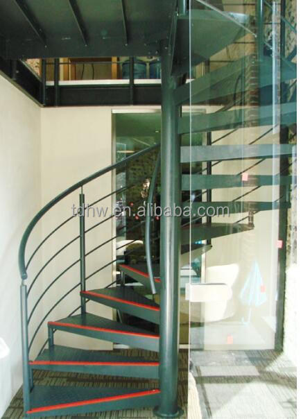 Cast Iron Used Spiral Staircase/wrought Iron Spiral Stairs/hot Galvanized  Spiral Stair