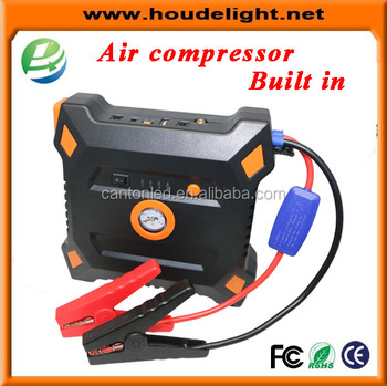 Newest built in air pump power bank battery