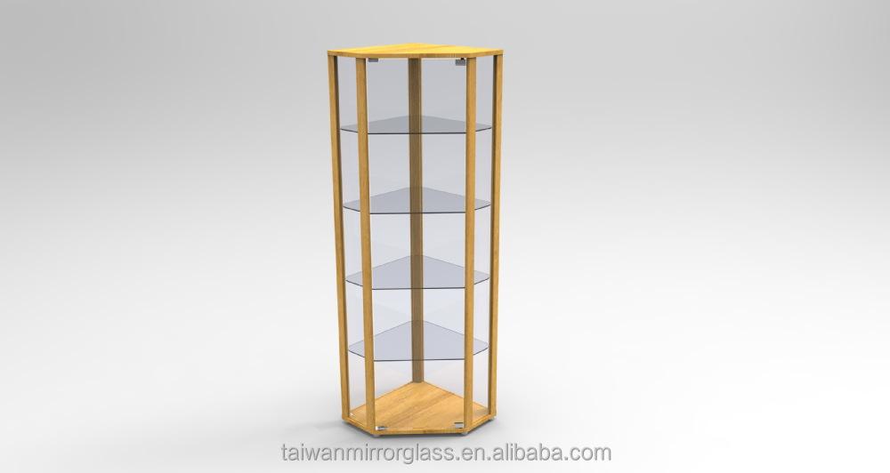 Stellingkast Met Hoek.Ikea Glazen Kast