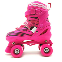 2017 new style high quality roller skate shoes price adjustable kids roller skate shoes quad roller skates with motor