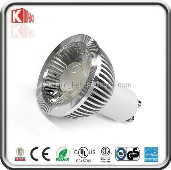 Spotlight item type aluminum lampshade 9W LED GU10 Dimmable