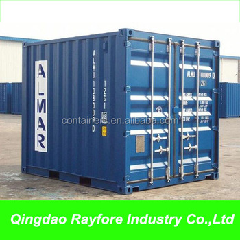 10 Foot Three Meters Cargo Shipping Storage Containers