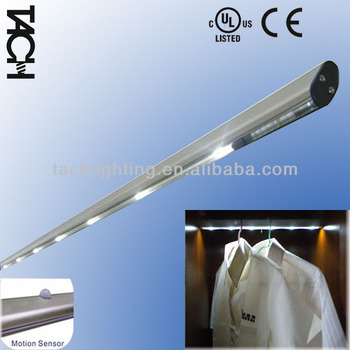 Merveilleux Battery Operated LED Closet Rod, On/off Switch,Customized Size