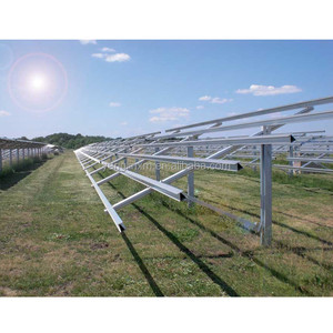 China Suppliers PV Mount System Solar Panel Ground Mounting Solution