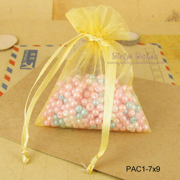 9 x 12cm Organza Bags of Assorted Colors Perfect for Jewelry Wedding Favors and Gift Packaging