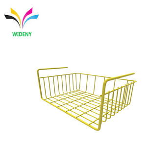 Multifunctional Wire Lightweight Metal Organizer Rack Under Shelf Storage Basket