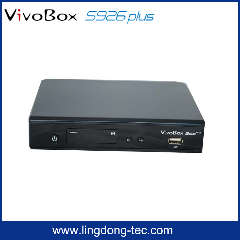 <strong>HD</strong> <strong>satellite</strong> receptor VivoBox S926 plus twin <strong>tuner</strong> with free IKS&SKS in stock/ digital <strong>satellite</strong> receiver S926 for south america