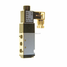 4 Way Pneumatic Directional Solenoid Valve 120-VAC