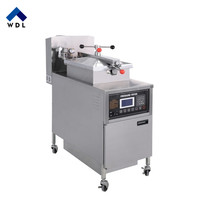 Stainless Steel Vacuum Drumstick Pressure Fryer/used kfc pressure fryer for sale/countertop pressure fryer