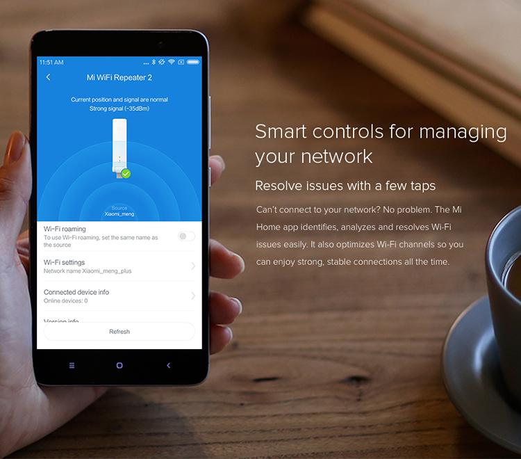 Wireless 300Mbps WiFi Signal Range Extender Amplifier Strengthen wi fi  Booster xiaomi Repeater 2, View wireless repeater, Xiaomi Product Details  from