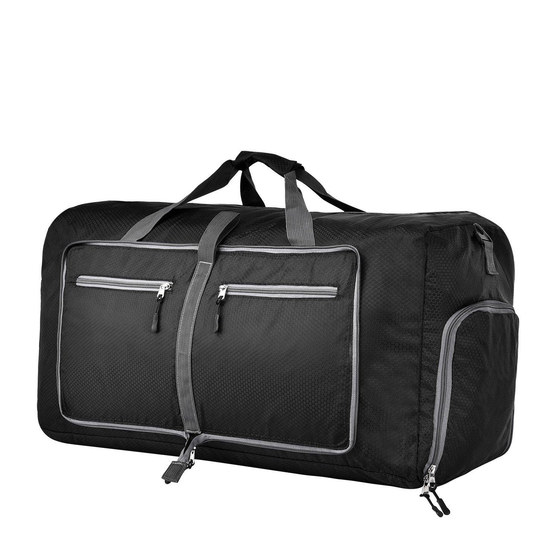 Atralife 60L/70L/80L Foldable Travel Duffel Bag for Luggage, Waterproof & Lightweight