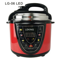 LG-06 4L/5L/6L/8L/10L/12LSafely Multipurpose pressure cooker electrical pressure cooker with temperature control