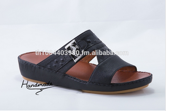 6477e1357e4 Arabic Sandal Slipper Shoe 4444 - Buy Genuine Leather Shoes ...