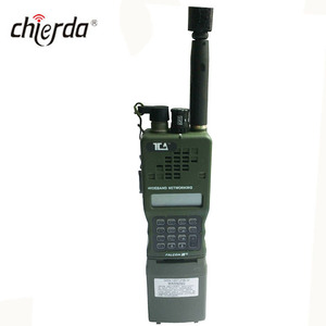 Military dual band VHF UHF GPS track walkie talkie With FH Ham radio GP152A