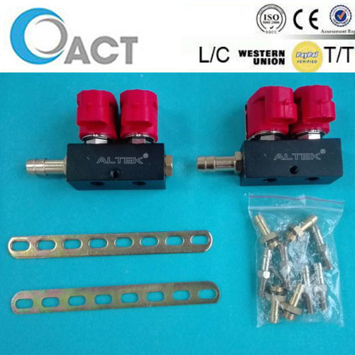 Best selling lpg/cng system Injector Rail 2 cylinders