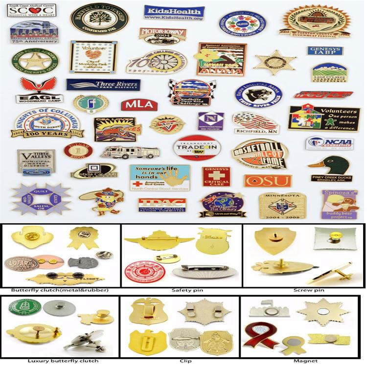 China professional manufacture lapel pin flag