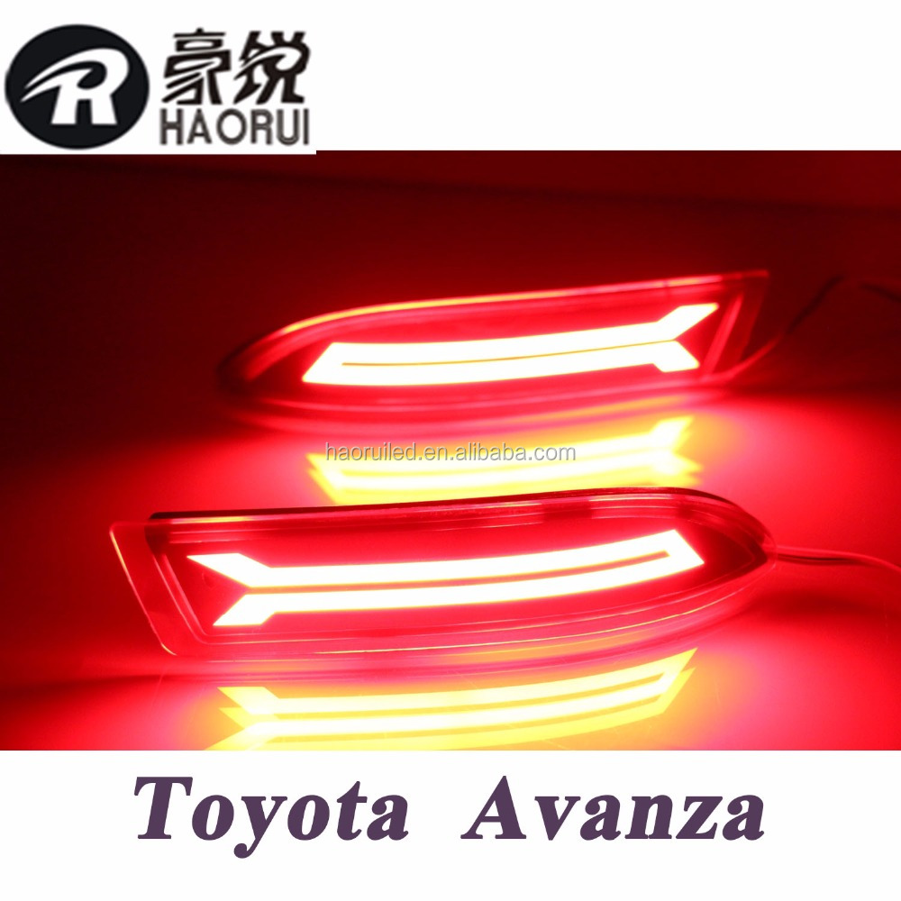 New arrival led modified rear bumper light for 2015-2016 year Avanza