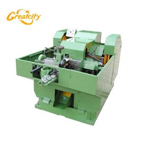 Automatic cold heading machine bolt and nut making machine