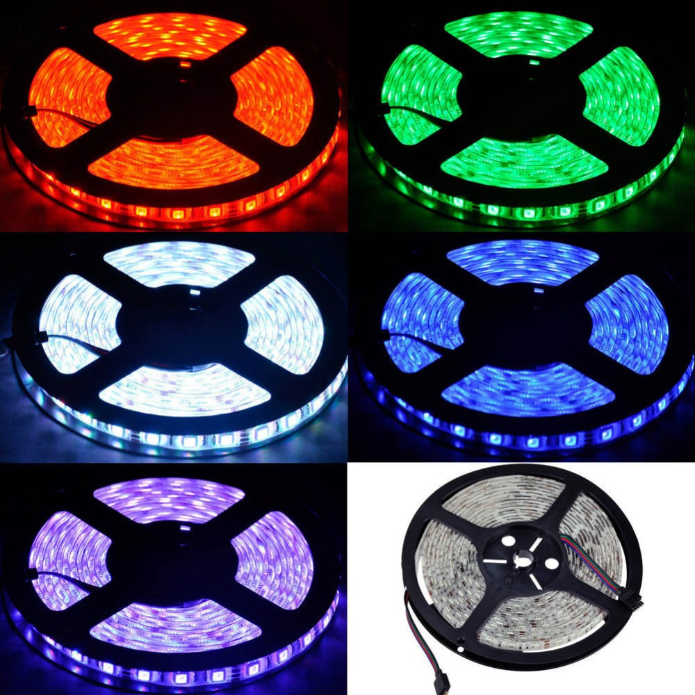 Ryker RGB white optional 12V 5m/roll RGBW 14.4w/m 72W IP20 nonwaterproof led strips light