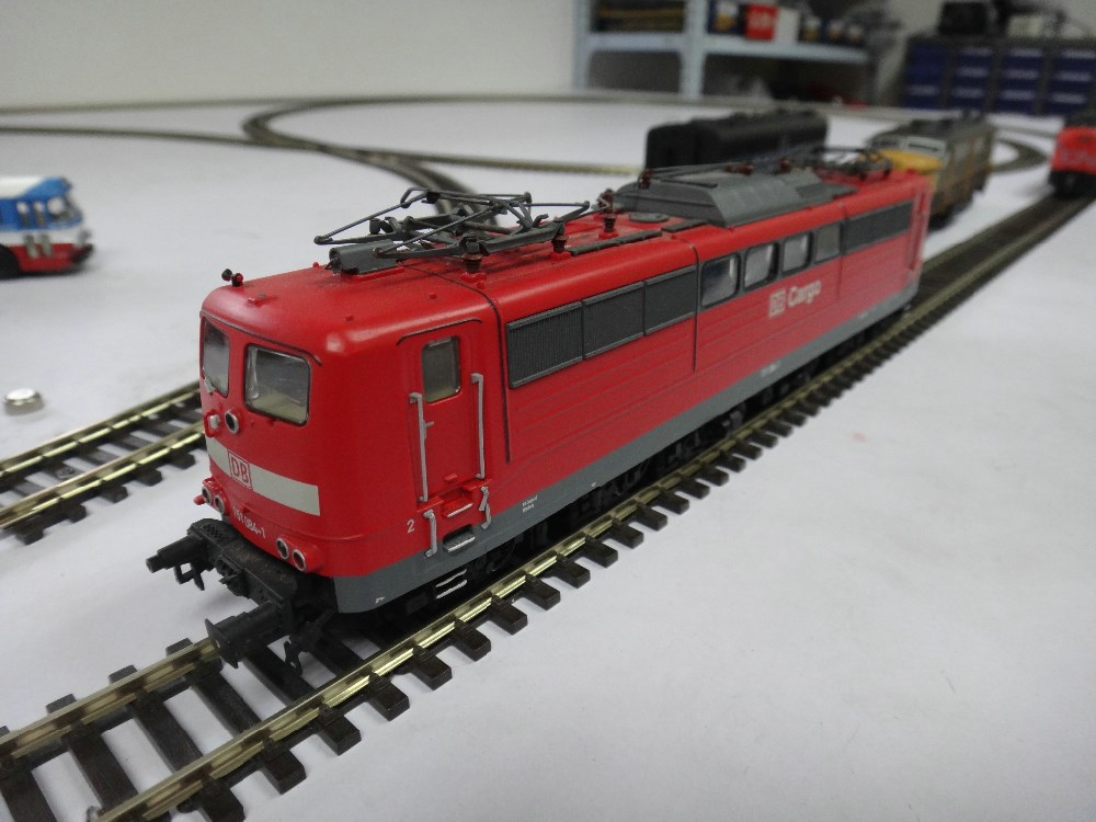 Dave road: Get N scale train replacement motors