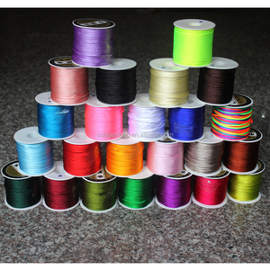 100 Yards 2.0mm Satin/Rattail Silk Cord for Necklace Bracelet Beading Cord Jewelry Making Accessory