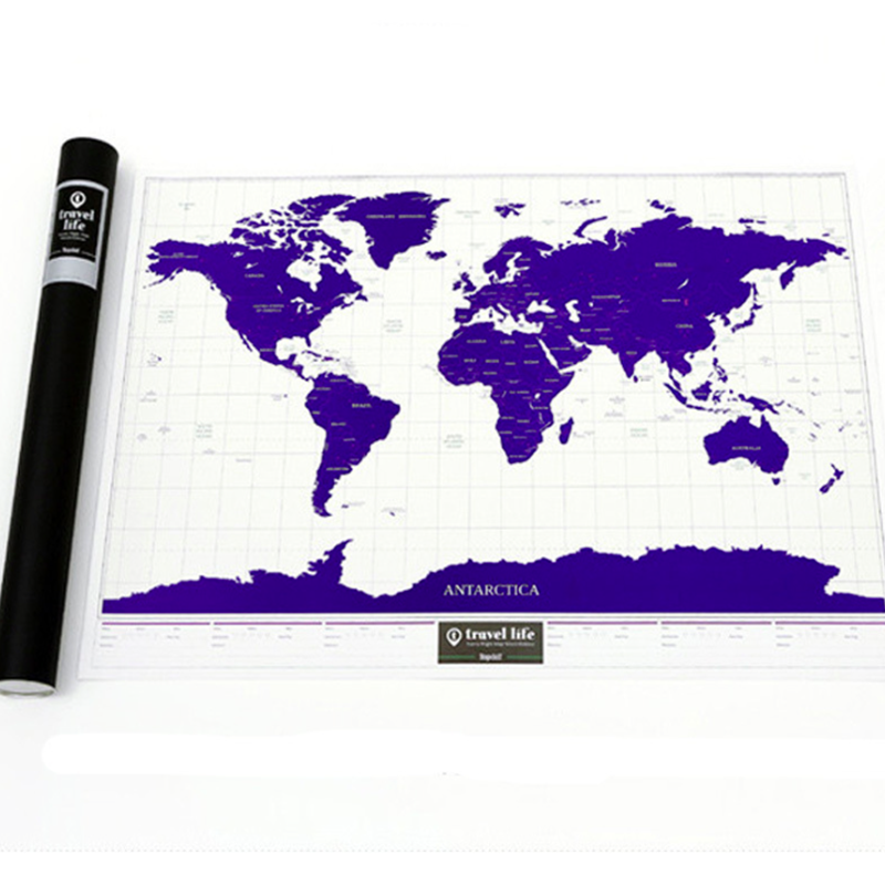 Scratch Off Usa Map Huge Premium Quality Stunning Black And White ...
