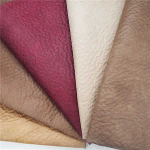 Upholstery brushed suede bronzed sofa fabric