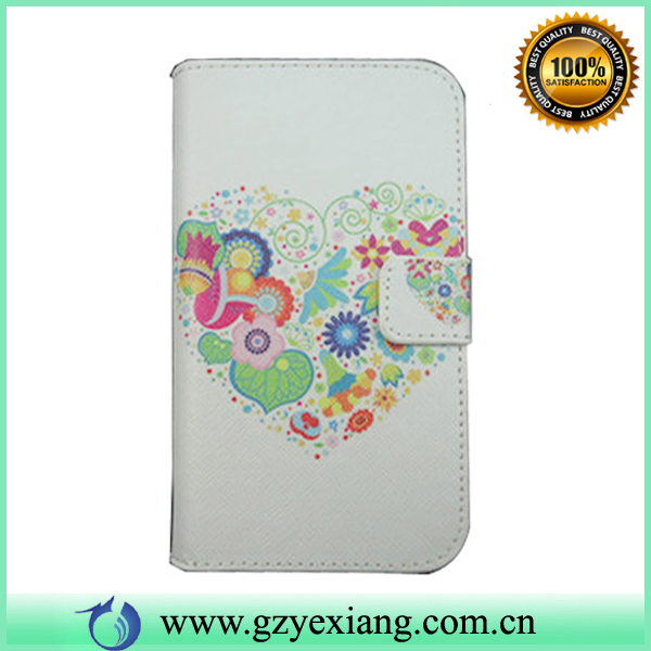 Luxury leather flip case For Samsung S3 Book style skin cover for i9300