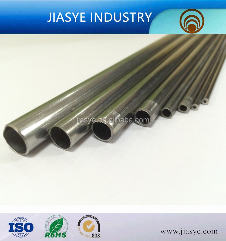 ASTM A254 SPCD 3.18*1.0mm single wall steel tube used in automobile for low pressure oil line pipe