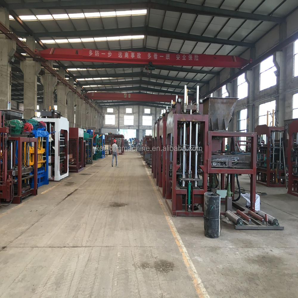 automatic concrete price hollow block machine