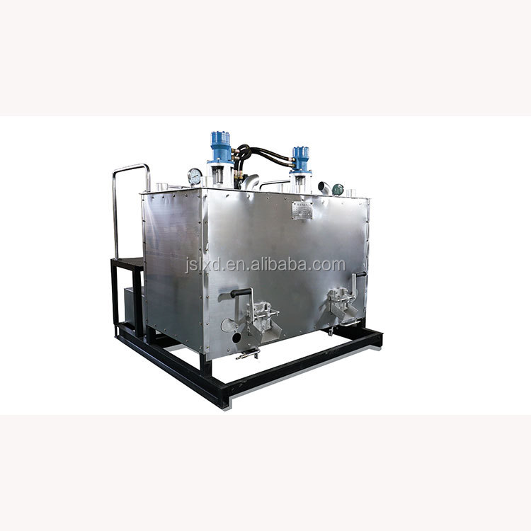 China Vertical Hydraulic Double-cylinder Pre-Heater road
