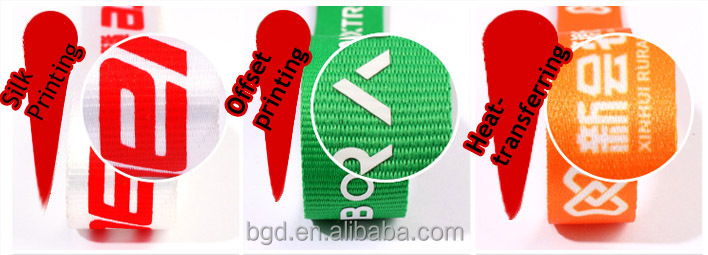 VOGRACE Make one custom lanyard with logo /custom heat transfer lanyard with hook