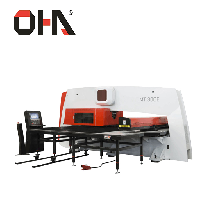 "OHA"" Brand DMT-300 Hydraulic CNC Turret Punch press/cnc punching machine"