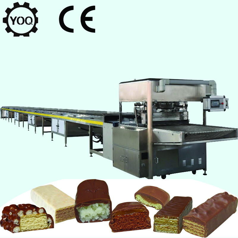 Z0387 Snack Foods Machinery Chocolate Candy Coating Production Line For Chocolate Manufacturers