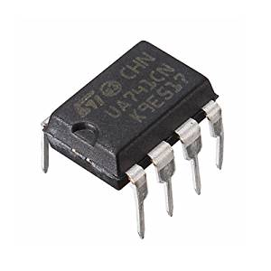 (4758-u) 10PCS UA741CN DIP-8 UA741 LM741 ST IC CHIP OPERATIONAL AMPLIFIERS (USA)
