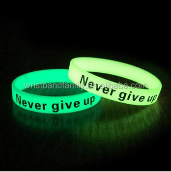 color changing cheap silicone wristbands ,rubber wristband, glow in the dark wristbands from China