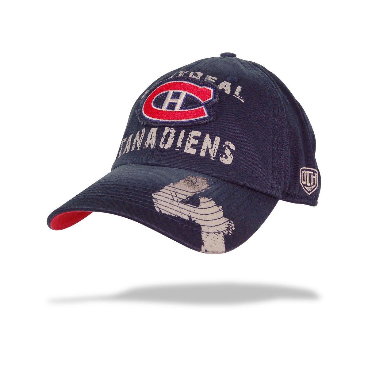 new styles 6b147 ea8a1 Get Quotations · Montreal Canadiens Jean Beliveau NHL Alumni Script Cap