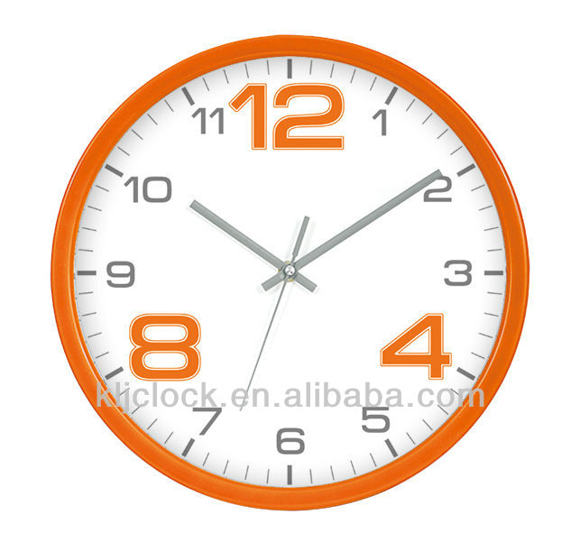 Idea Clock Wh 6756 Coloring Paper Wall Clock With Special Design