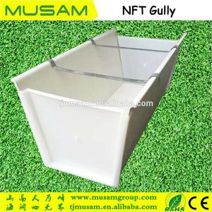 Greenhouse Hydroponic U-type Planting Trays Equipment Growing Crops